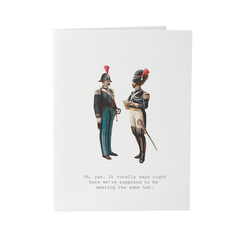 Men With Hats - Card