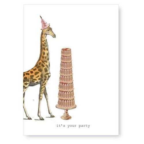 It's Your Party - Card