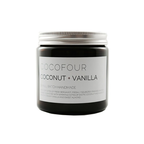 Coconut & Vanilla - Small Soy Candle