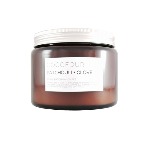 Patchouli & Clove - Large Soy Candle