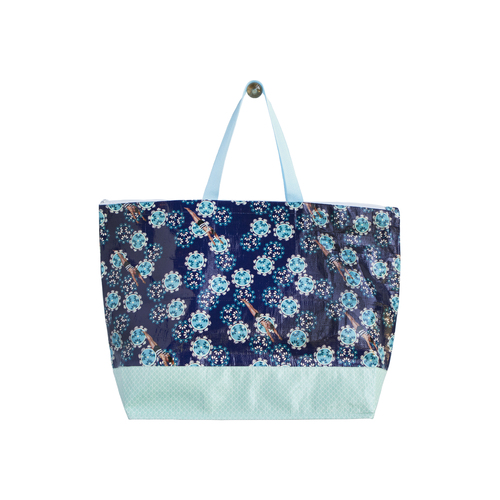 Divers - Large Reusable Tote Bag
