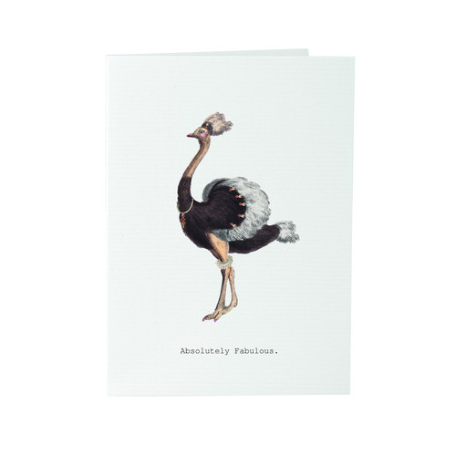 Absolutely Fabulous - Card