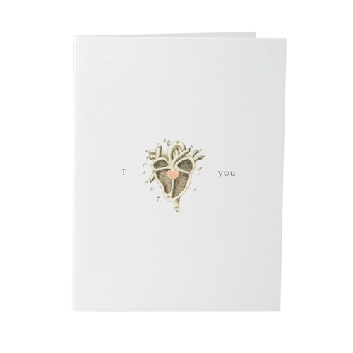 I Heart You - Card