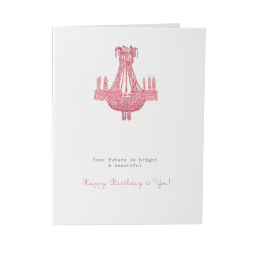 Your Future Is Bright - Happy Birthday Card