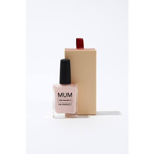 Mum You Nailed It I'm Perfect -  Nude Pink Boxed Nail Polish