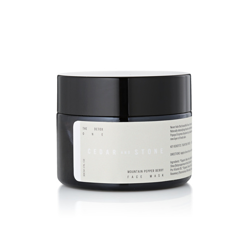 The Detox One - Mountain Pepper Berry & Papaya Mask
