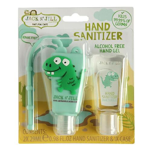 Hand Sanitiser 2 pack (Alcohol Free) - Dino