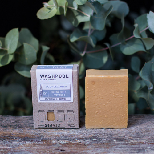 Manuka & Goat's Milk - Body Cleanser/Soap Bar