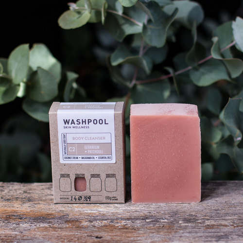 Geranium & Patchouli - Body Cleanser/Soap Bar