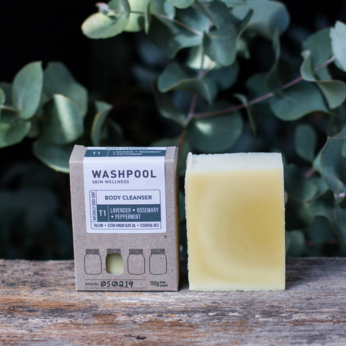 Lavender, Rosemary, Peppermint - Body Cleanser/Soap Bar