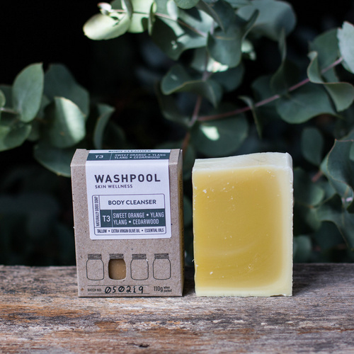 Sweet Orange, Ylang Ylang & Cedarwood - Body Cleanser/Soap Bar
