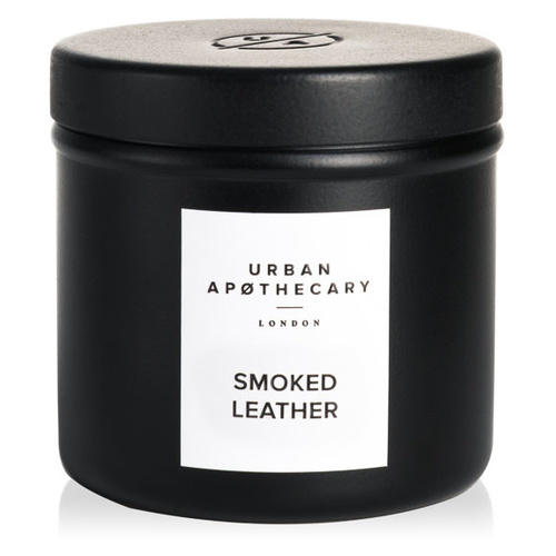 Smoked Leather - Travel Candle
