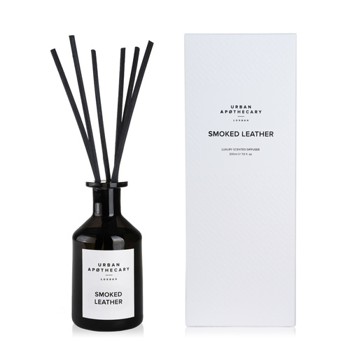 Smoked Leather - Reed Diffuser